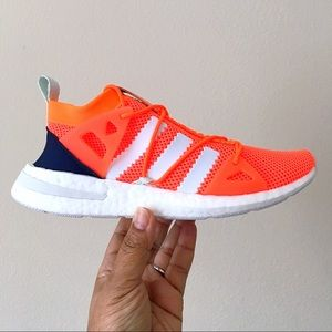 RARE Adidas Arkyn Shoes Solar Orange